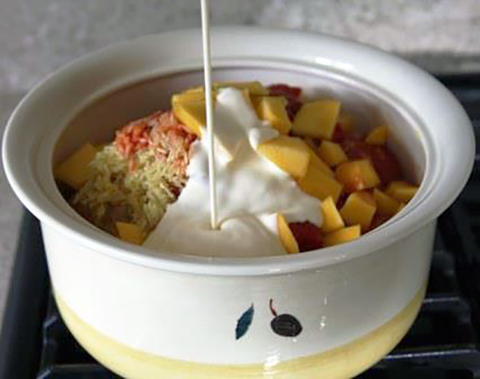 baked Mango Chicken Curry Recipe