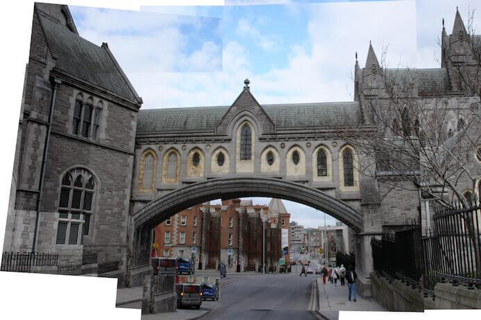 photography portfolio tips -  christchurch cathedral dublin ireland