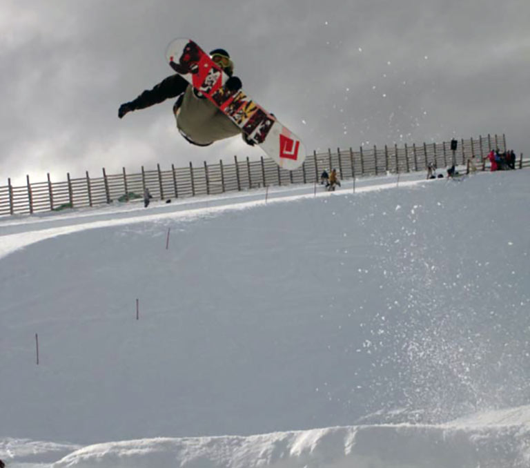 Snowsports photographer Burton Open New Zealand
