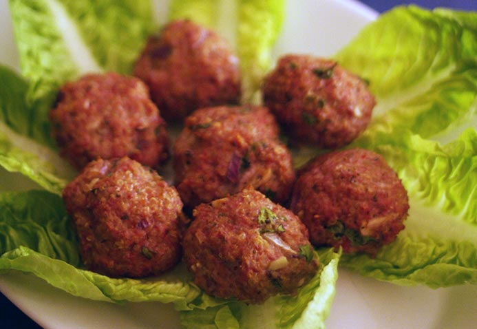 quinoa turkey meatballs recipe