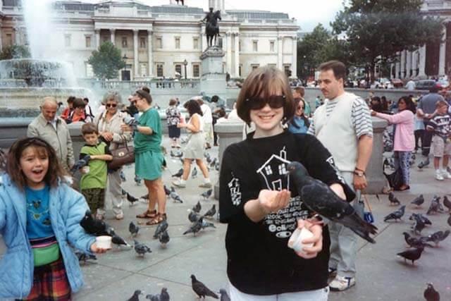 Melanie May in London