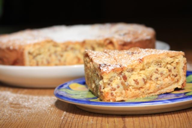 Pastiera Napoletana Traditional Italian Easter Cake