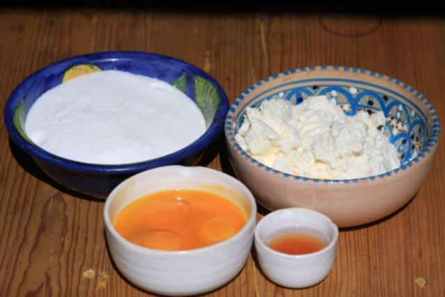 creamy ricotta filling