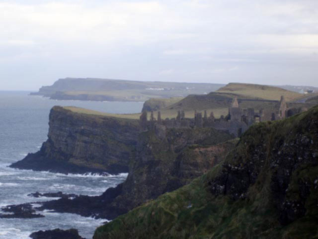 The rugged coastline of Co. Antrim, Ireland