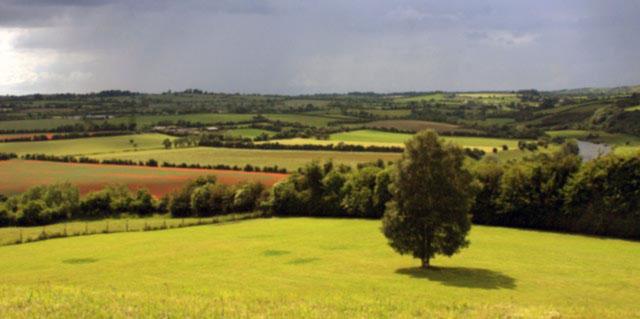 Photograph of Newgrange in County Meath