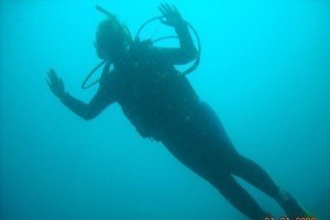 Melanie May information scuba diving in Colombia