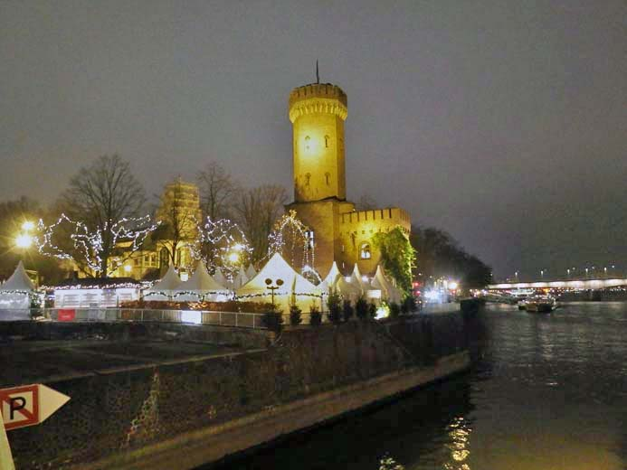 Cologne Christmas Markets Guide Harbour Christmas market in Cologne Germany