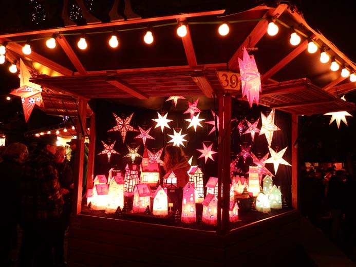 Cologne Christmas Markets guide a traditional wooden market hut stall