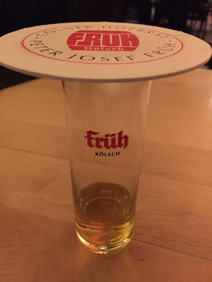 Cologne City Guide things to drink tradition Kolsch beer in Fruh Brauhaus am Dom