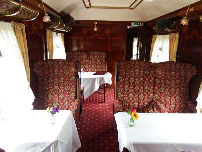 The Pullman Restaurant Orient Express Glenlo Abbey Hotel Galway Ireland