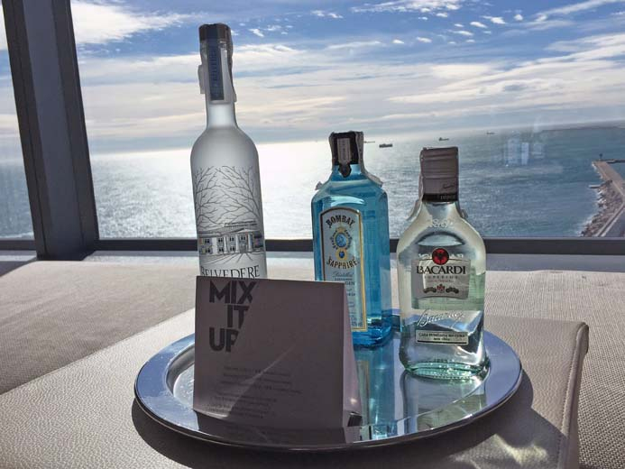 W Hotel Barcelona review the wonderful room amenities