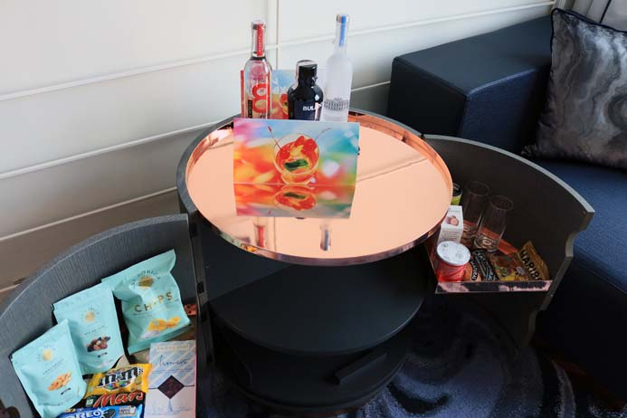 W Hotel Barcelona review the wonderful room amenities and bar
