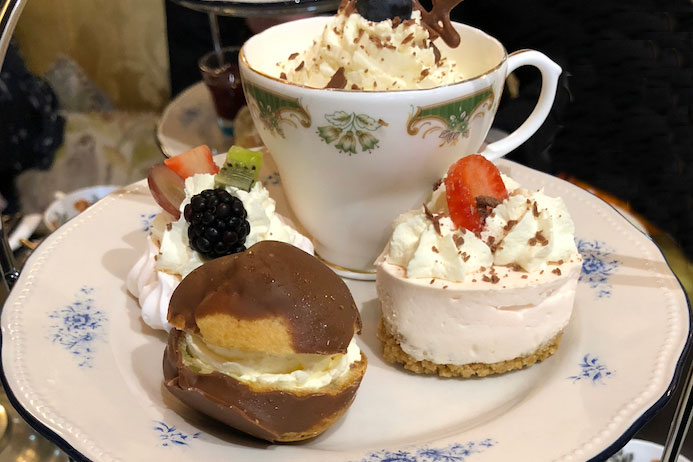 Cafe Townhouse Doneraile review of afternoon tea in the Cafe Townhouse Doneraile in Cork in Ireland