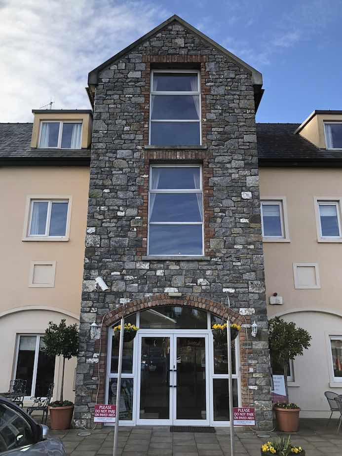 Deebert House Hotel review - lunch in The Cloisters Restaurant in the Deebert House Hotel in Kilmallock, County Limerick, Ireland. Munster Vales Travel Guide.