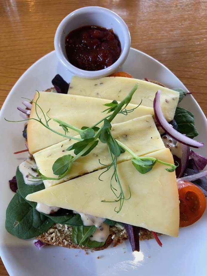 Deebert House Hotel review - Effin Cheese lunch in The Cloisters Restaurant in the Deebert House Hotel in Kilmallock, County Limerick, Ireland