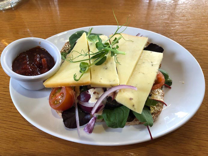 Deebert House Hotel review - lunch in The Cloisters Restaurant in the Deebert House Hotel in Kilmallock, County Limerick, Ireland
