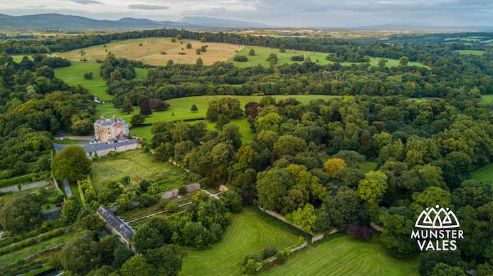 Visiting Doneraile Park in North Cork, Ireland.