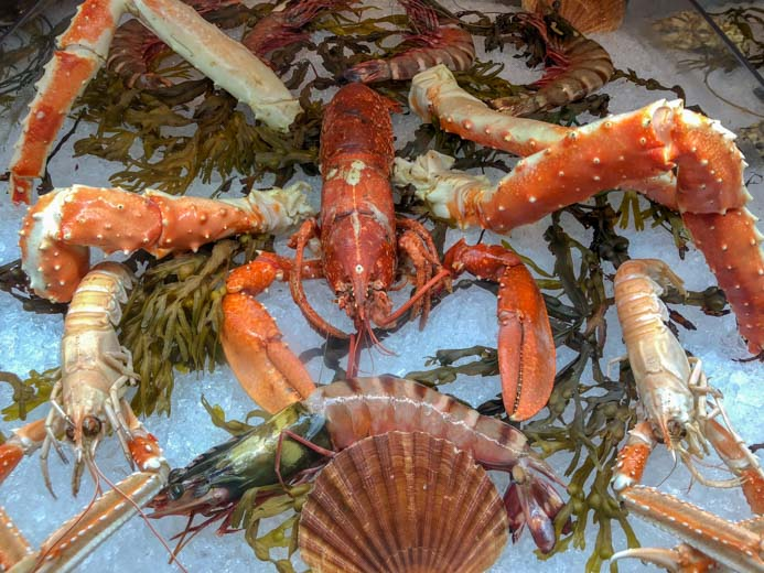 Sole Seafood and Grill Dublin Restaurant review by Melanie May. Fresh, raw seafood.