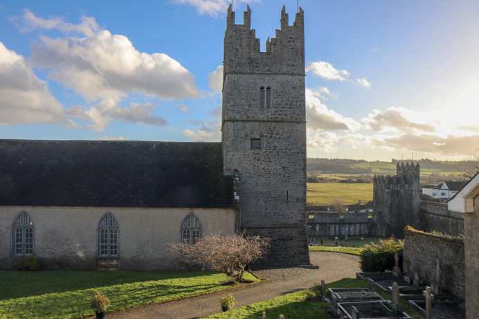Fethard Town Walls Heritage Trail Tipperary Ireland. Photo of Fethard Town Walls.