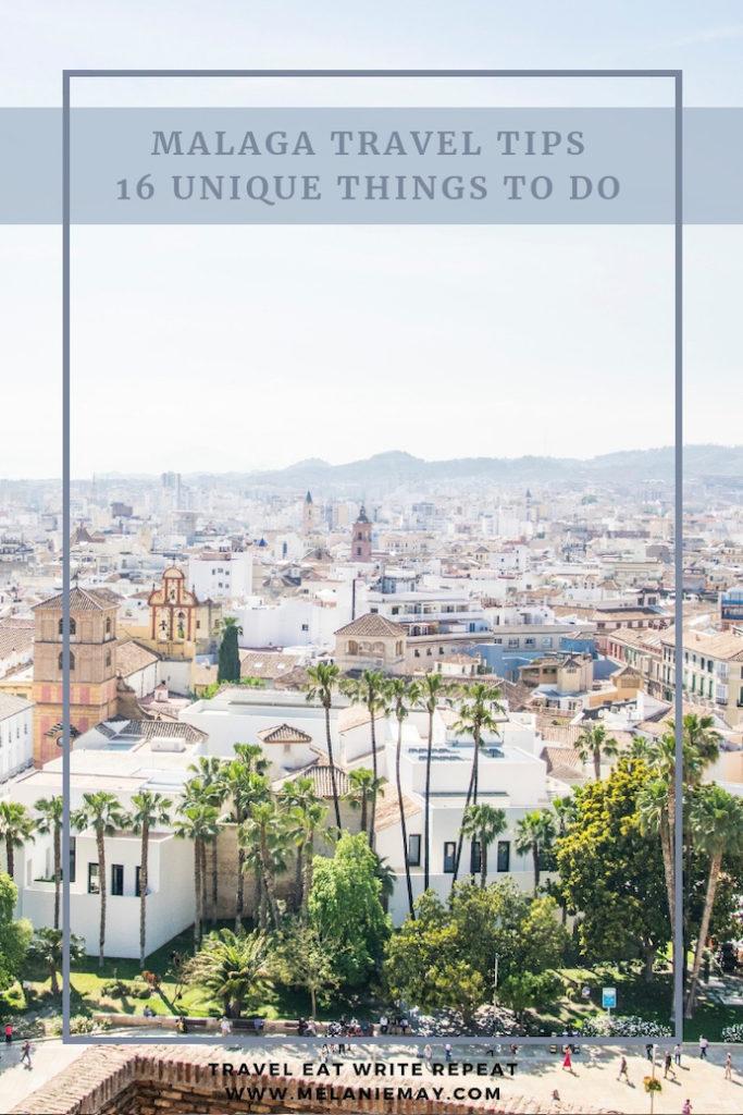 Malaga Travel Tips - 16 Unusual Things to Do | Melanie May