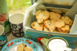 Shrewsbury Biscuits Recipe - Fresh baked batch of Shrewsbury Biscuits.