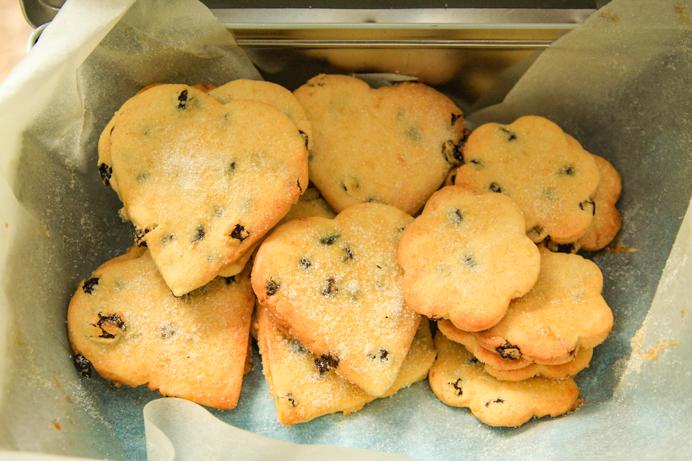 Shrewsbury Biscuits Recipe - Fresh baked batch of Shrewsbury Biscuits.