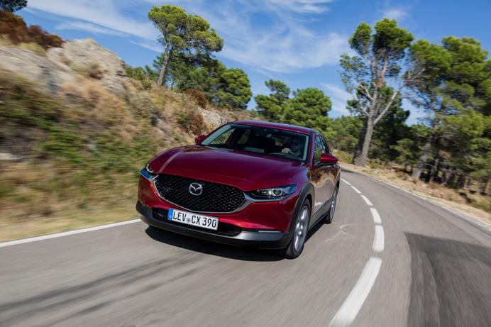 Mazda CX-30 road trip from Barcelona to Girona