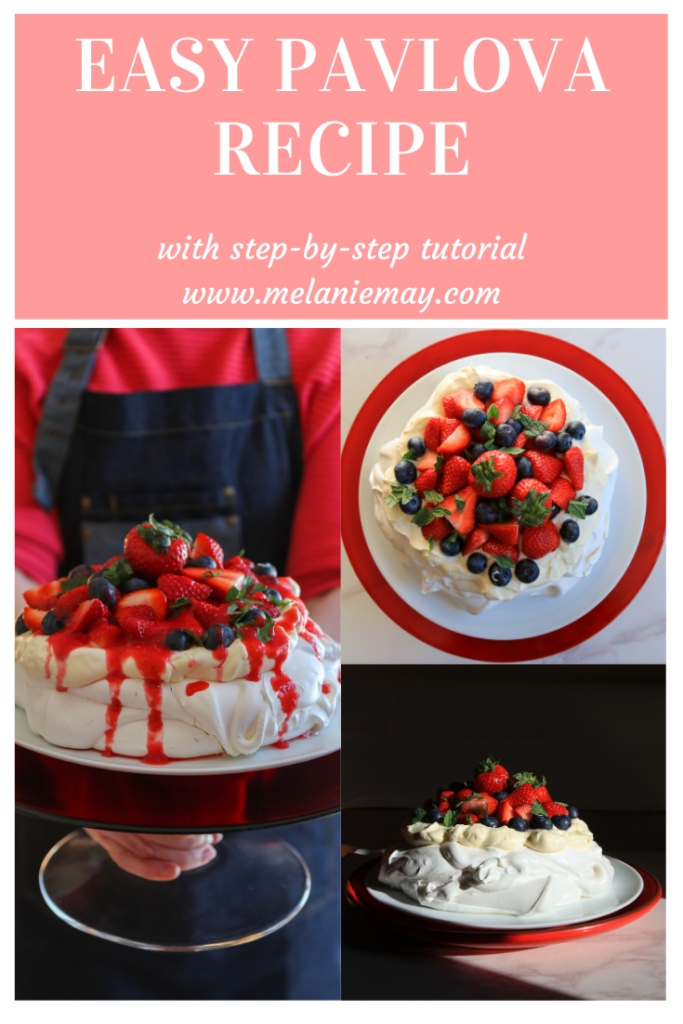Easy Pavlova Recipe With Step-By-Step Instructions.