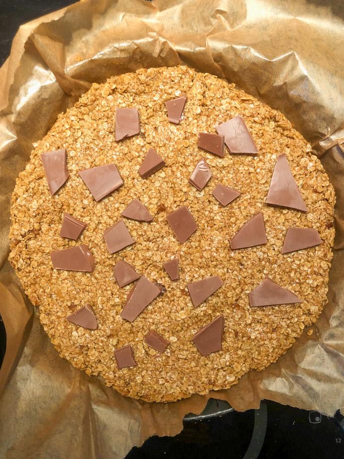Easy flapjack recipe by Melanie May.