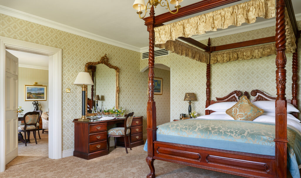 The Grand Suite at the Glenlo Abbey Hotel and Estate
