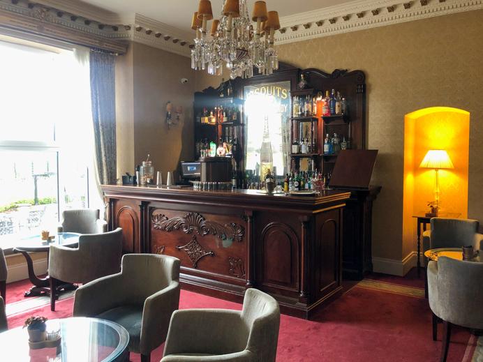 Glenlo Abbey Resident's bar