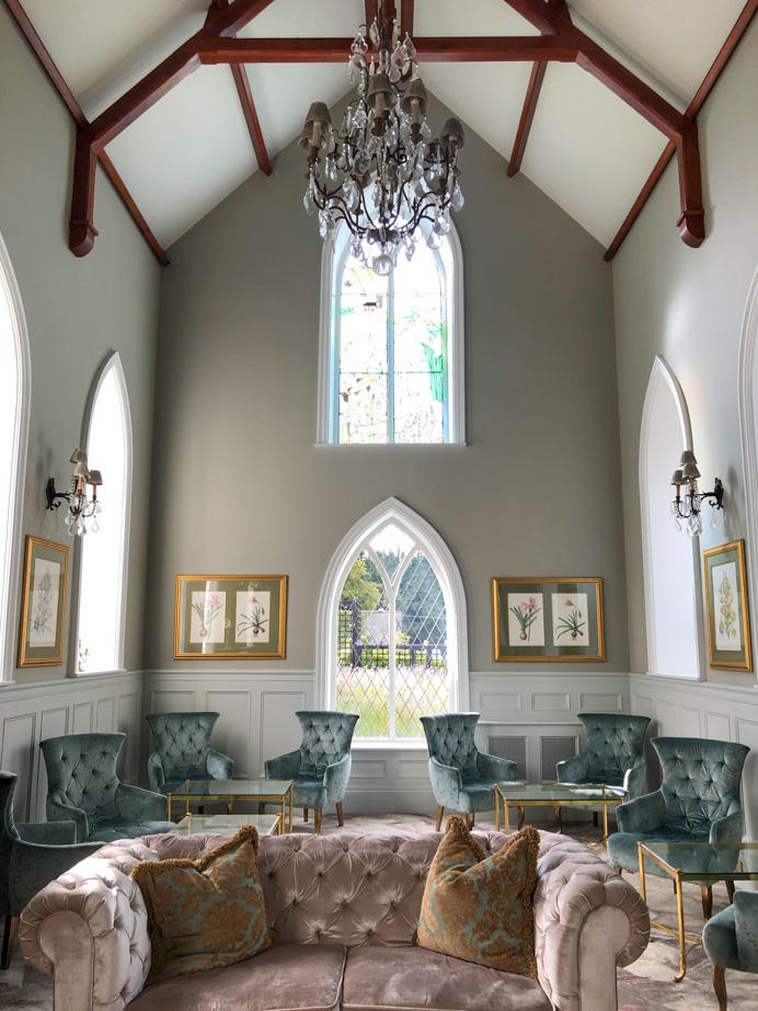 Elegantly restored Glenlo Abbey