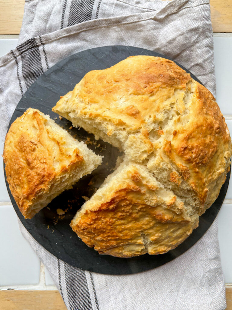 Homemade soda bread - food photography and styling by Melanie May